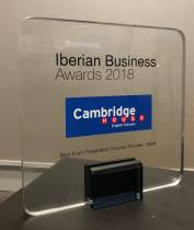 Cambridge House recibe el Iberian Business Awards 2018