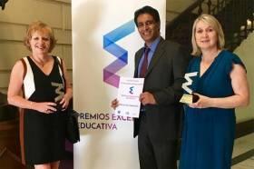 Cambridge House recibe el premio a Mejor Trayectoria y Mejor Metodología - Enhorabuena a todos!